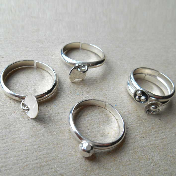 Sterling Stack Rings