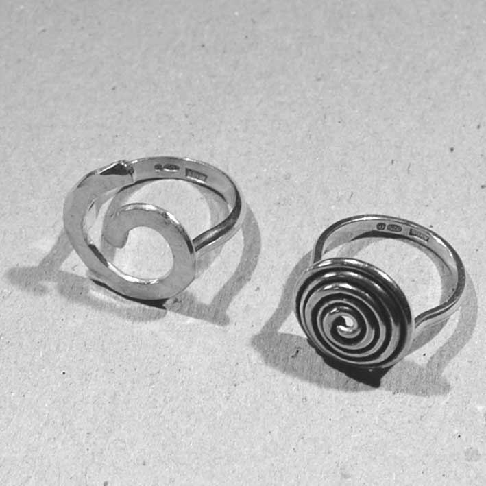 Silver Statement Rings